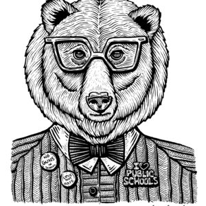 Stacy-Bates-Art-Fort-Smith-Grin-And-Bear