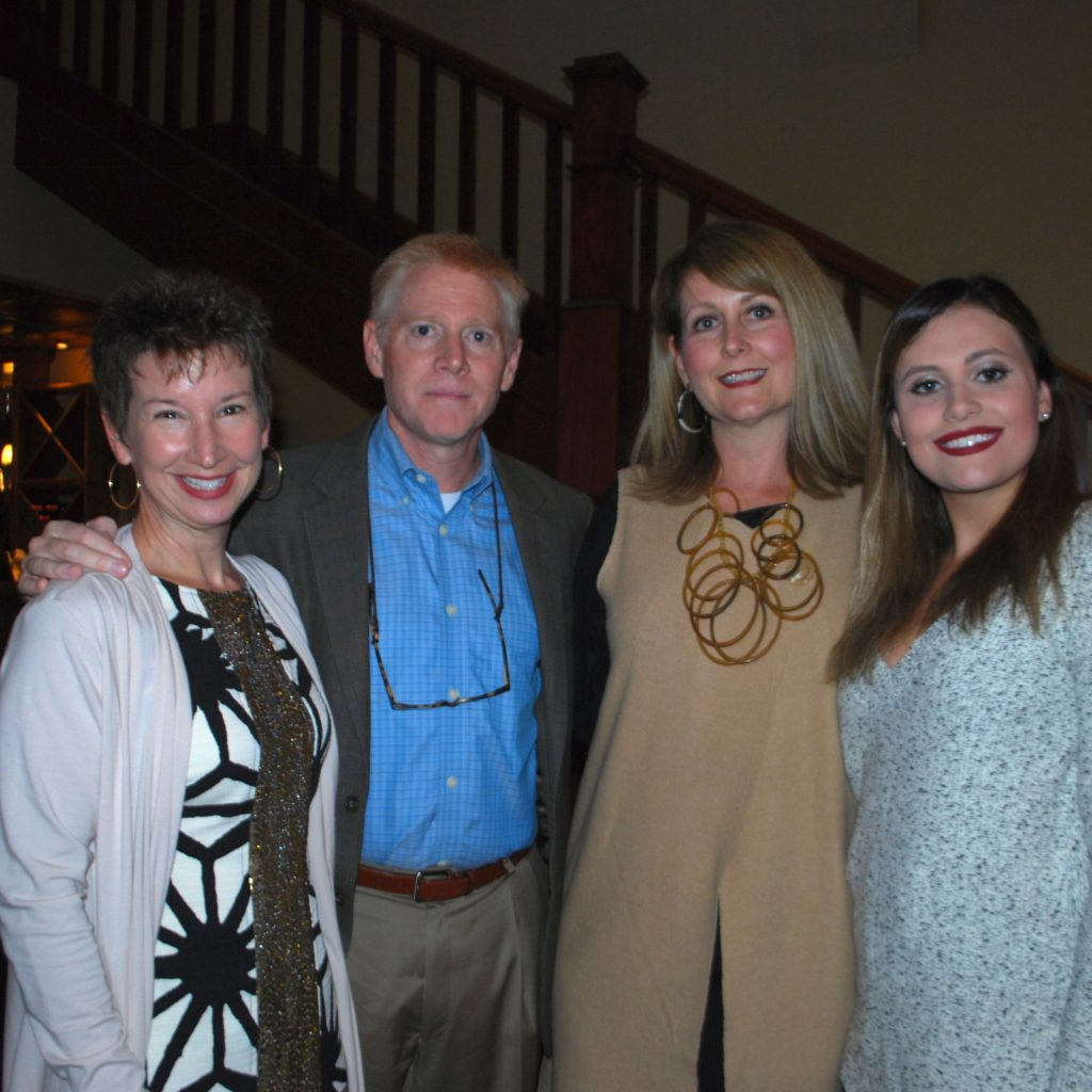 Ashley And Same Reeves With Debra Layton, Board Of Directors, And Alex Beauchamp Photo Credit: 3W Magazine