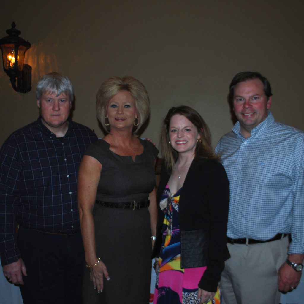 David And Jennifer Sharp With Marlena And Michael Bond Photo Credit: 3W Magazine