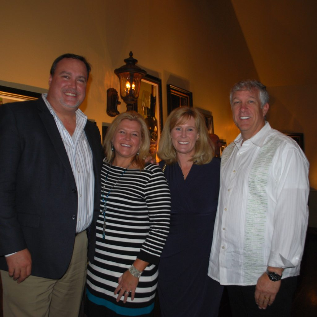 Eddie And Cindy Andrus With Julie And Shawn Walker Photo Credit: 3W Magazine