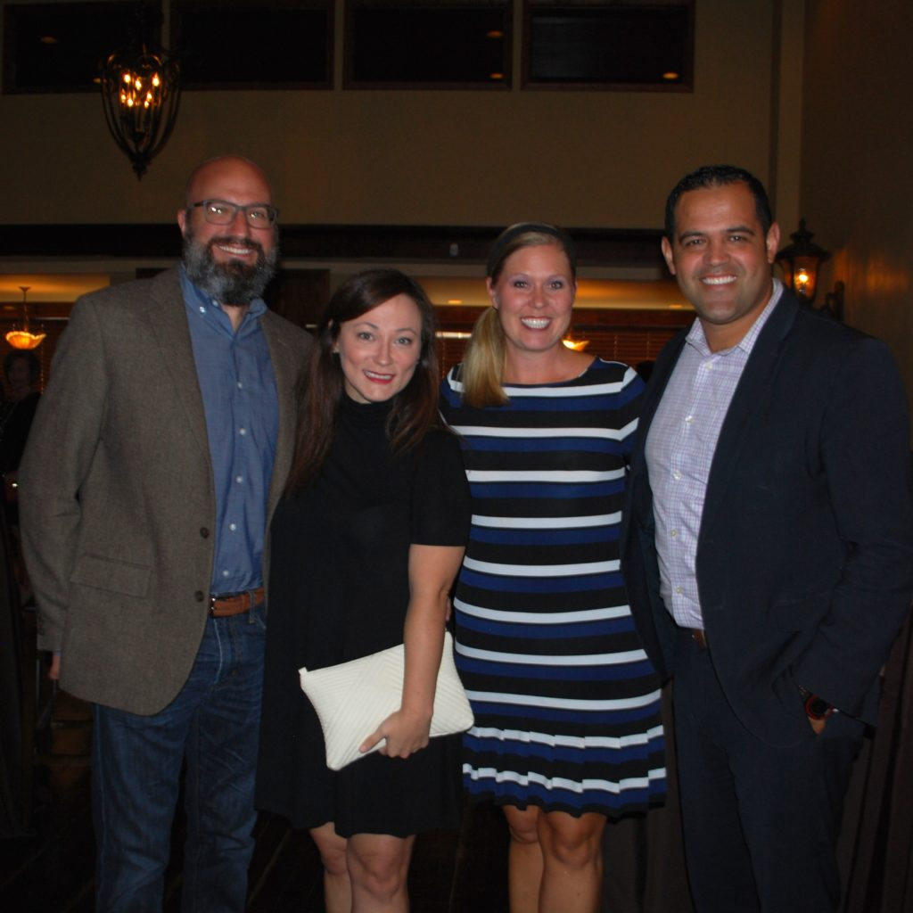 Eric And Angelique O'Bryan, Board Of Directors, With Kristin And Alex Rosette