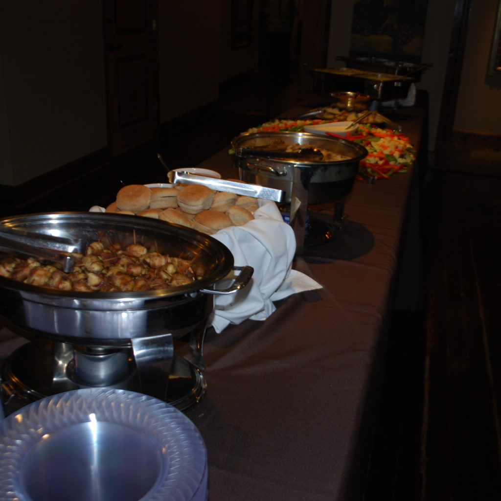 Catering Provided By KFB Events (Krutons) Photo Credit: 3W Magazine
