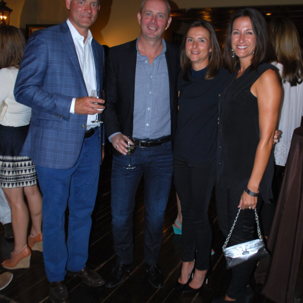 Paul Dyck, Gregg And Kathryn Parsons, And Jennifer Dyck Photo Credit: 3W Magazine