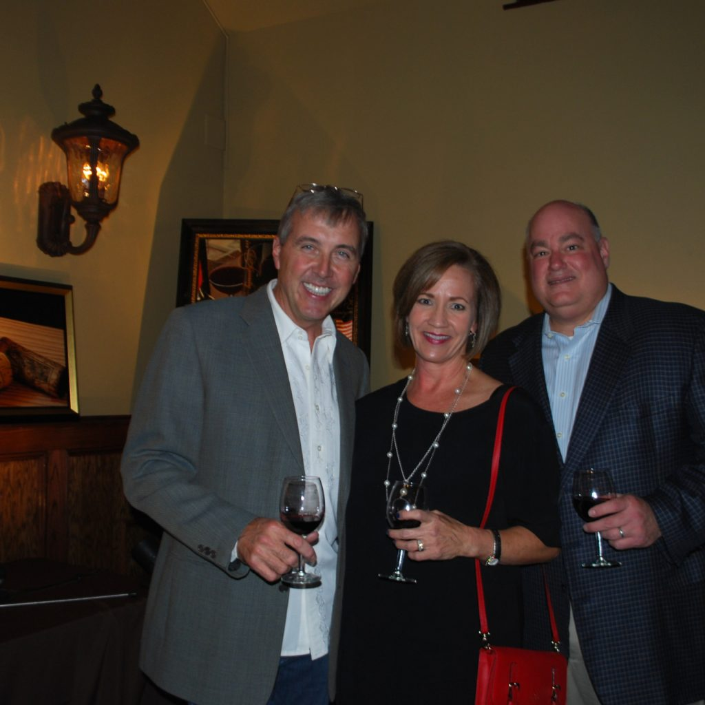 Thomas Arvid, With Mary Beth And Tim Brooks Photo Credit: 3W Magazine