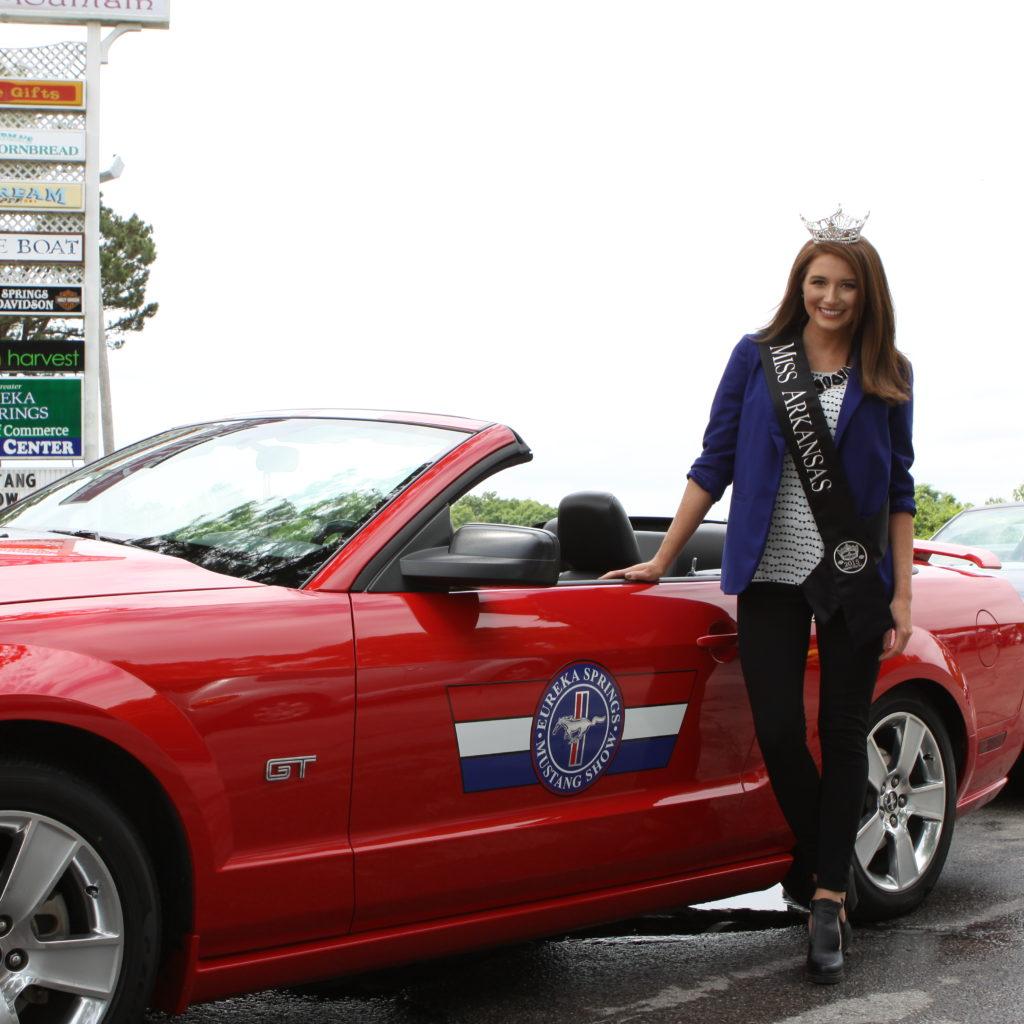 Mustang Club Rally In Eureka Springs