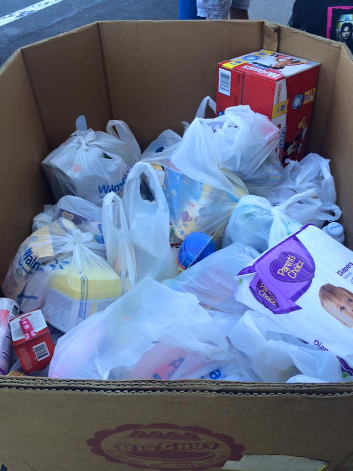 Arkansas CW And NUK Partnered To Conduct A Baby Product Drive Outside Of One Of Our Local Walmart Stores