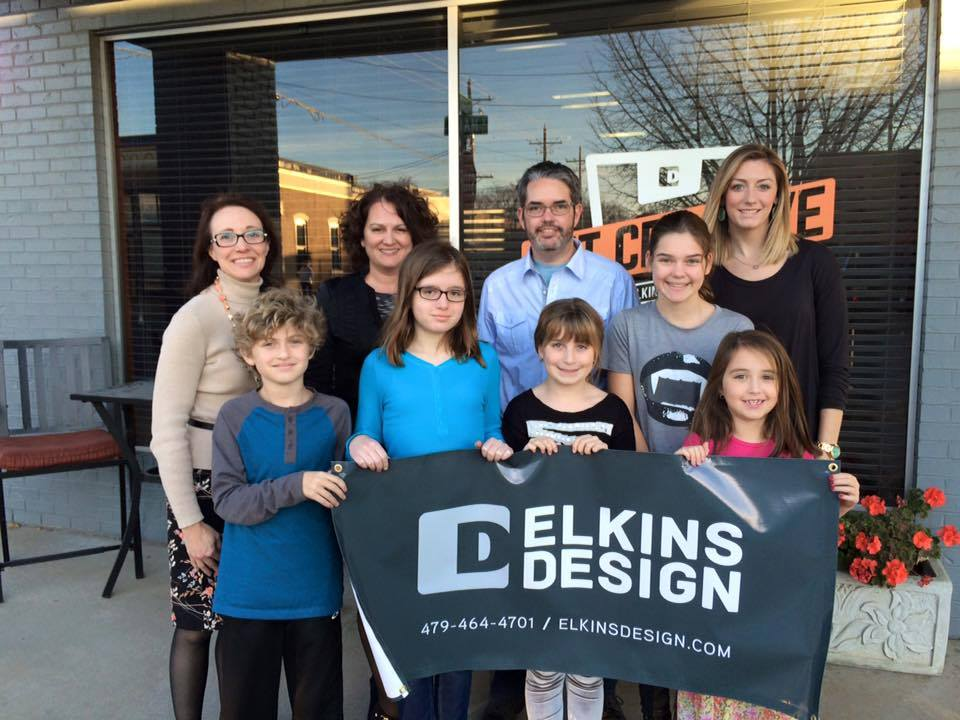 Young Community Members Used Elkins Designs For Their Lemonade Stand During BFF