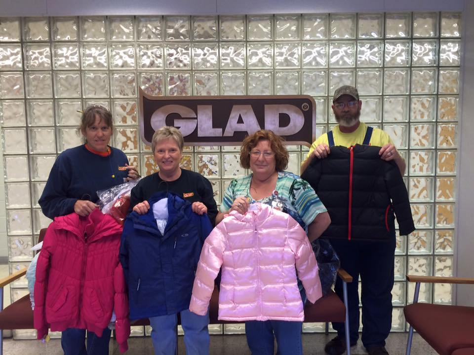 GLAD Employees Opted For A Coat Drive Right Before The Cold Weather Came To NWA