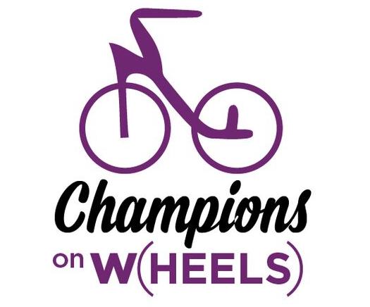 Champions on W(heels) logo
