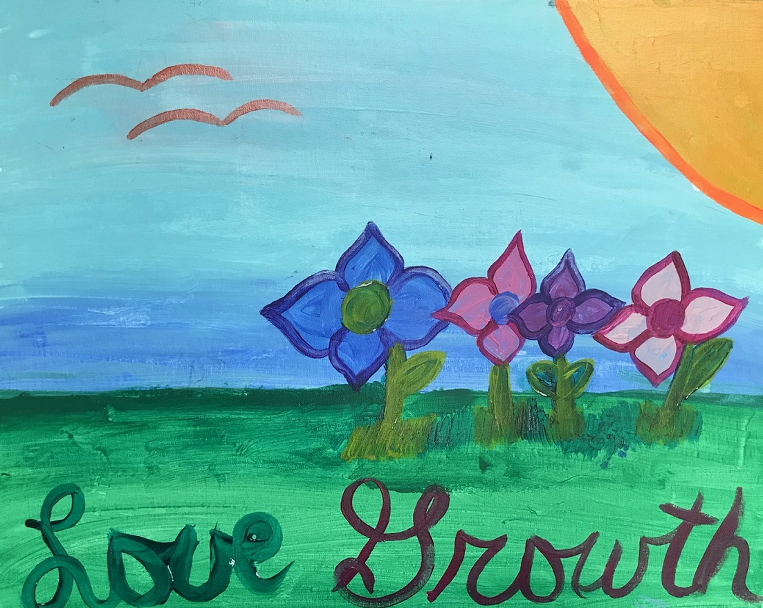 Client Art – Love Growth