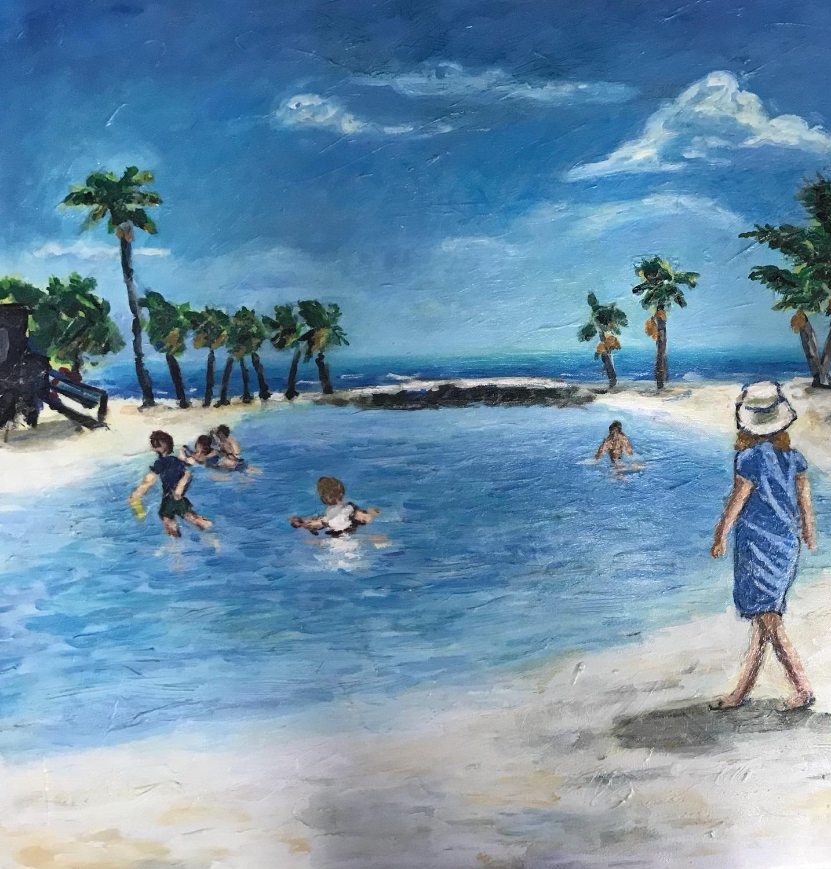 Michael Zoller Beach Walker