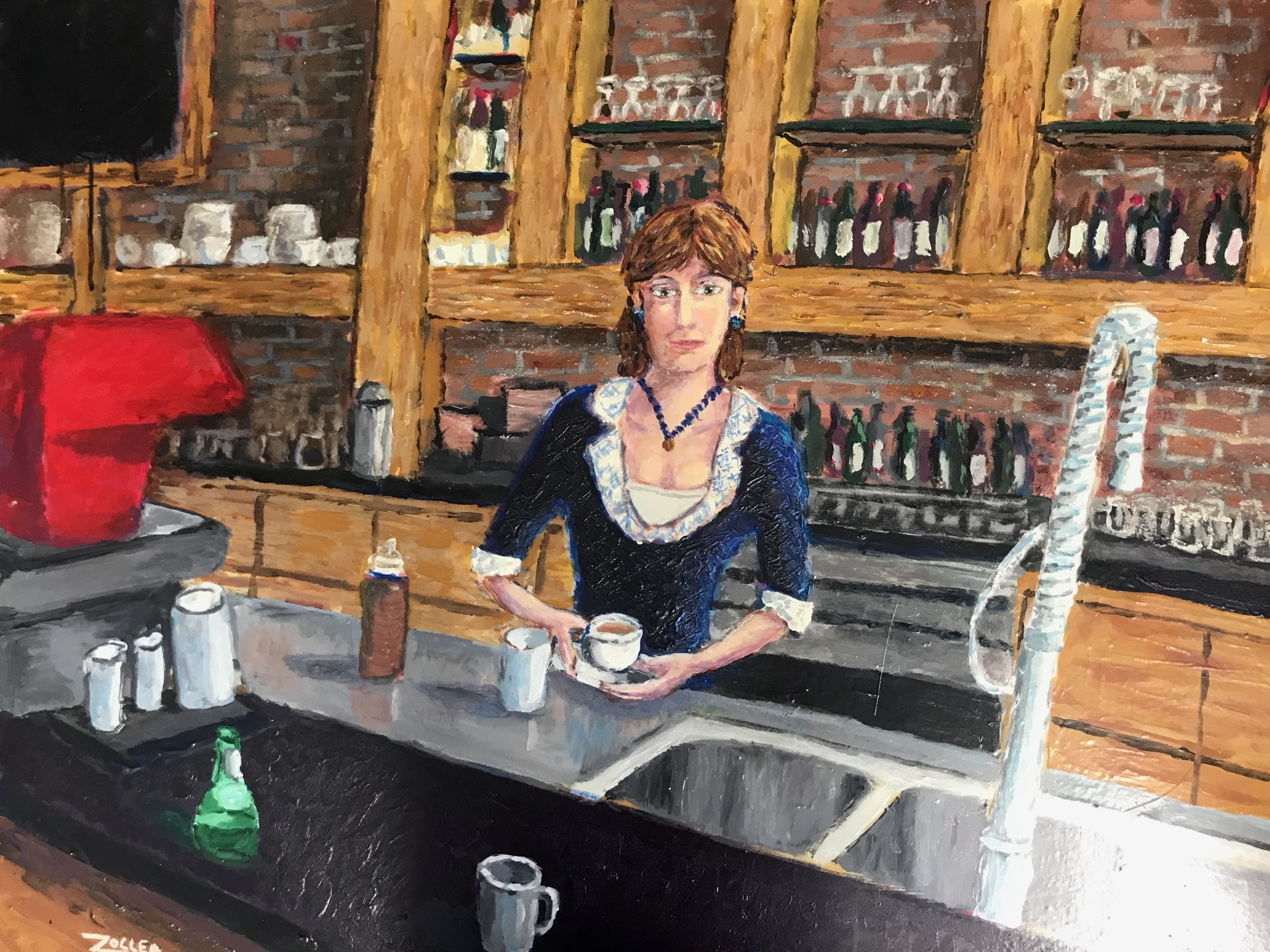 Artist Piece: Coffee At The Old Pressroom