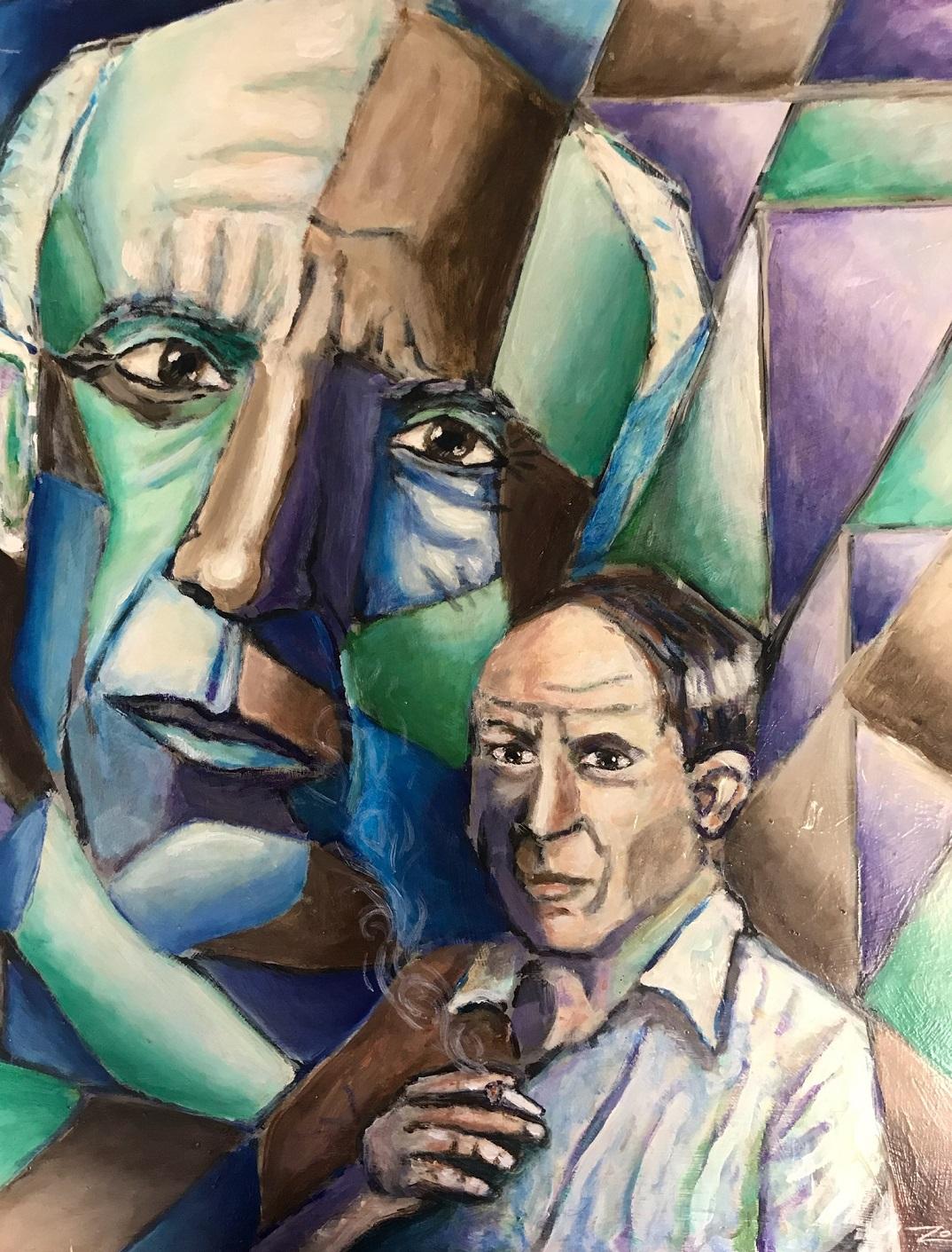 Artist Piece: Picasso Cubed